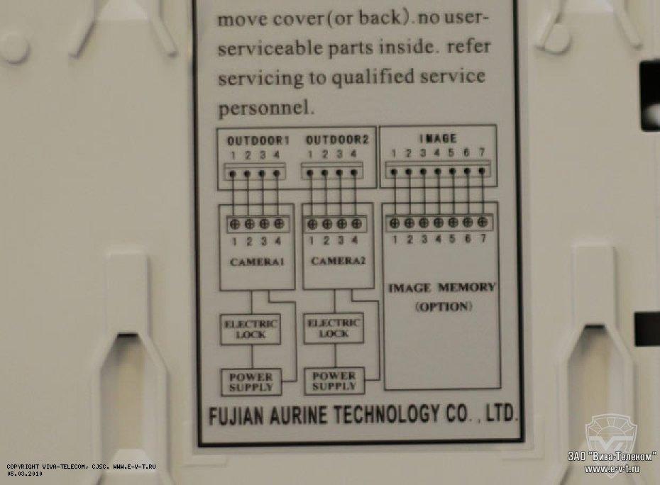 Видеодомофон aurine a4-f2 инструкция