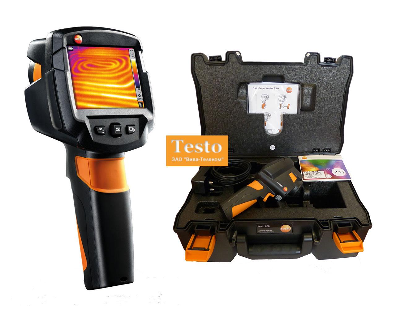 тепловизор testo 870-1 инструкция по эксплуатации