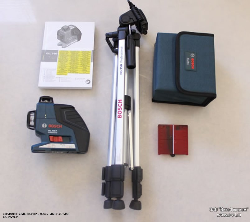 Нивелир Bosch GLL 3-80 P + BS 150 - фото 10