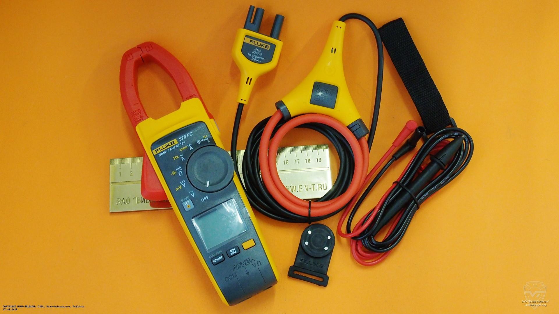 Комплект поставки Fluke 376FC | фотография от ЗАО Вива-Телеком
