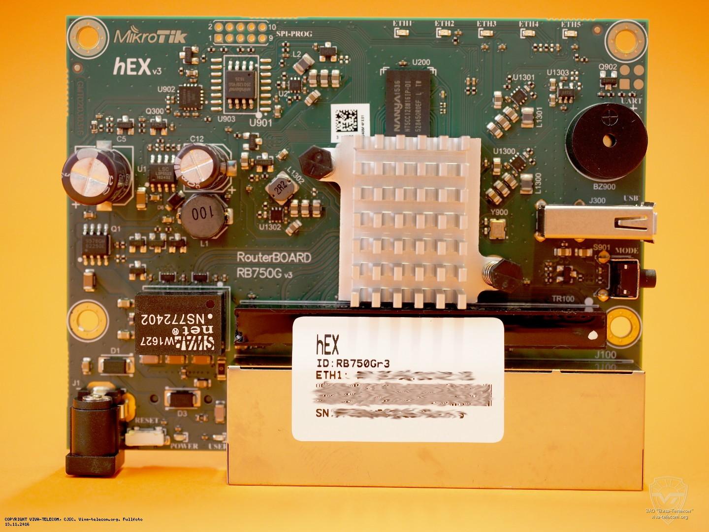 Mikrotik Hex Rb750gr3 R3 Rb750gr2
