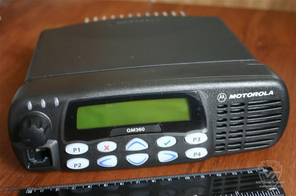 Обзор радиостанции Motorola GM360
