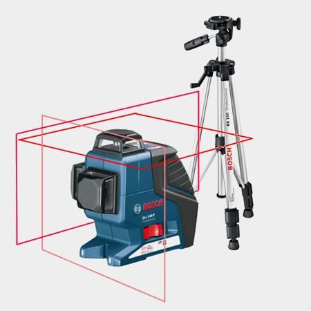 Нивелир Bosch GLL 3-80 P + BS 150 - фото 6
