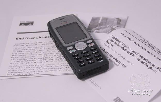 Обзор Cisco 7925G Unified Wireless IP Phone (CP-7925G-E-K9