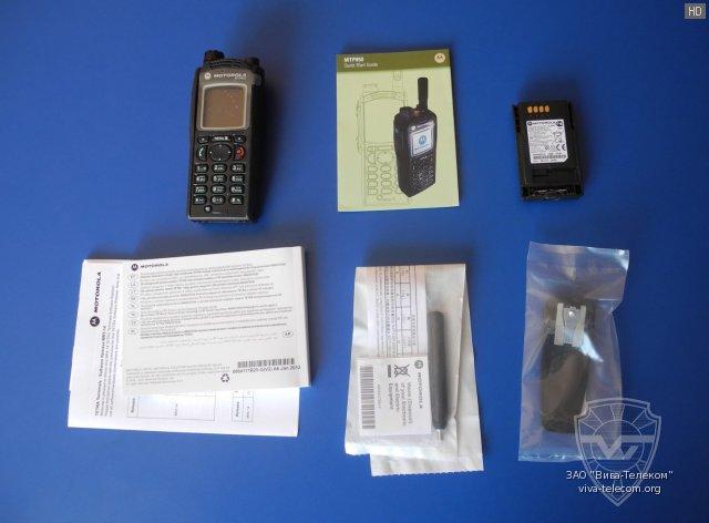 САГА Телеком - Мобильная радиостанция TETRA Motorola MTM800
