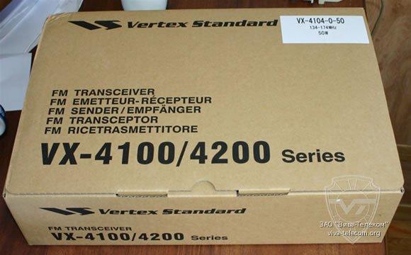 Vertex Standard VX-921 V - добро пожаловать