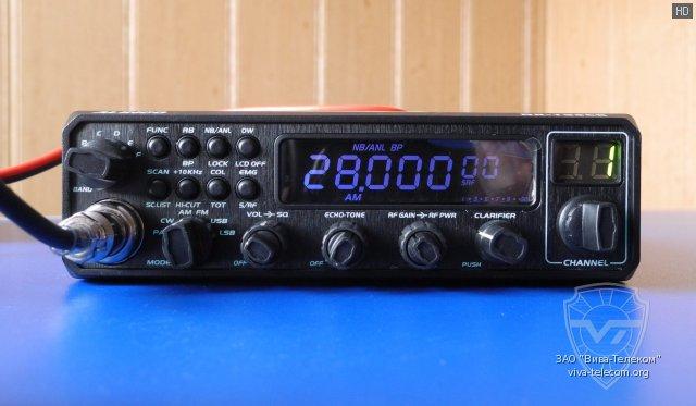 Передняя панель радиостанции Alinco DR-135 CB New