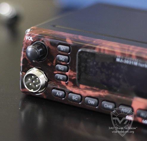 Микрофонный разъём радиостанции Мегаджет MJ-3031M
