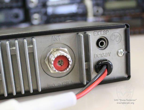 Антенный разъем рации MJ-3031M Turbo