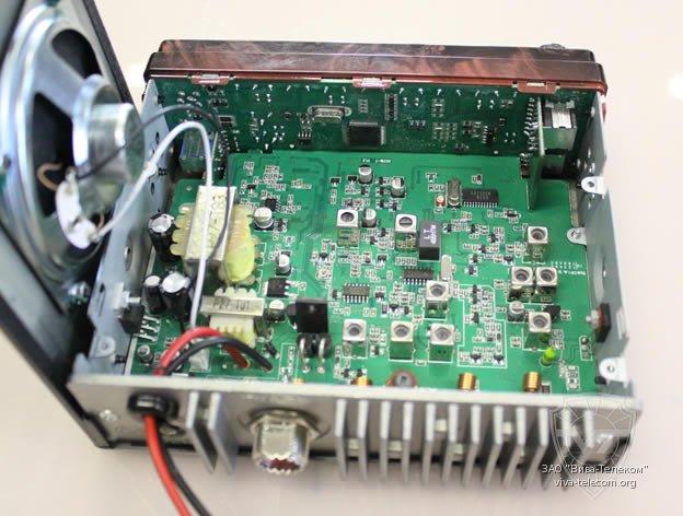 Печатная плата рации Мегаджет MJ-3031 M Турбо
