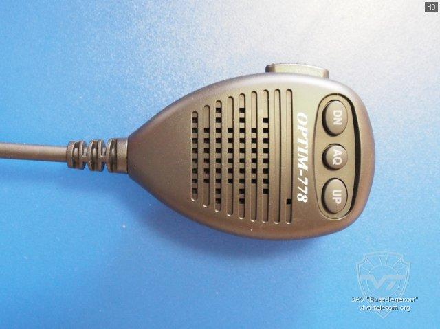Ручной микрофон радиостанции Optim 778